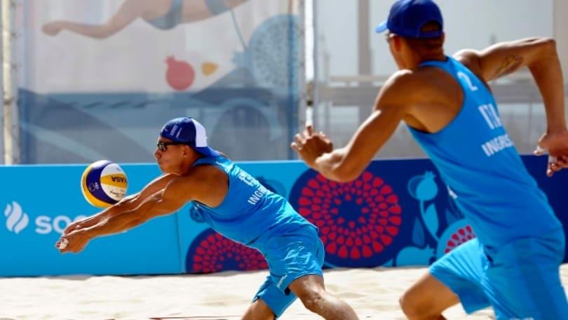 Beach Volley: European Games continua la marcia degli Ingrosso