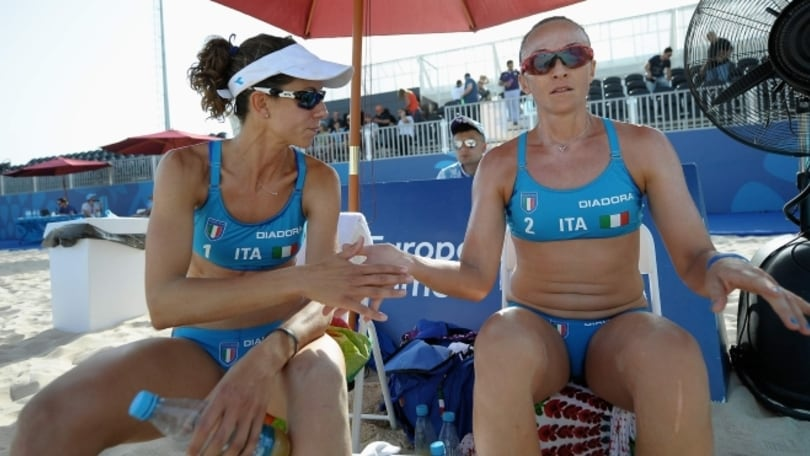 Beach Volley: European Games eliminate Gioria-Momoli