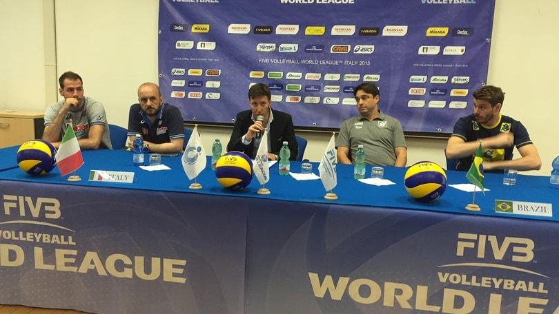 Volley, Italia – Brasile: Berruto, « Sarà un evento planetario »