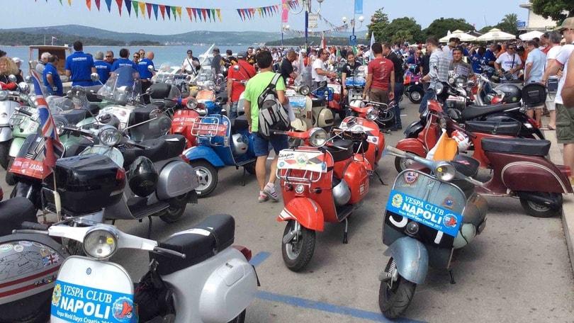 5.000 Vespa al raduno mondiale in Croazia