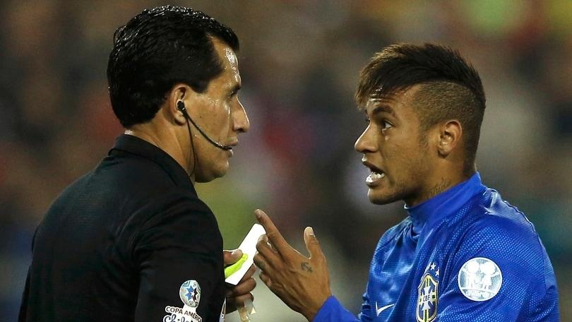 Coppa America: un turno di stop per Neymar e Bacca