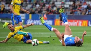 Italia Under 21: esordio negativo con la Svezia