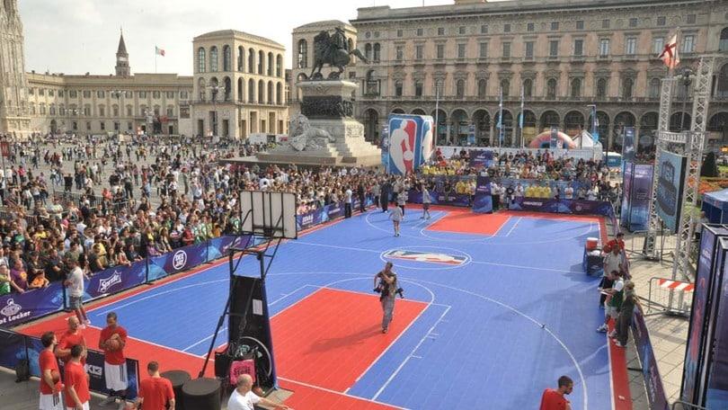 L'NBA sbarca in Italia, la Fan Zone a Milano