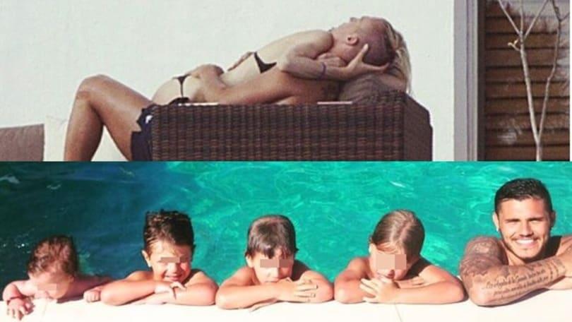 Ibiza, Maxi e Daniela hot. Wanda si infuria