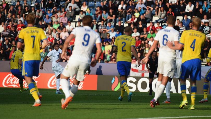 Europeo Under 21, l'Inghilterra risorge: 1-0 alla Svezia
