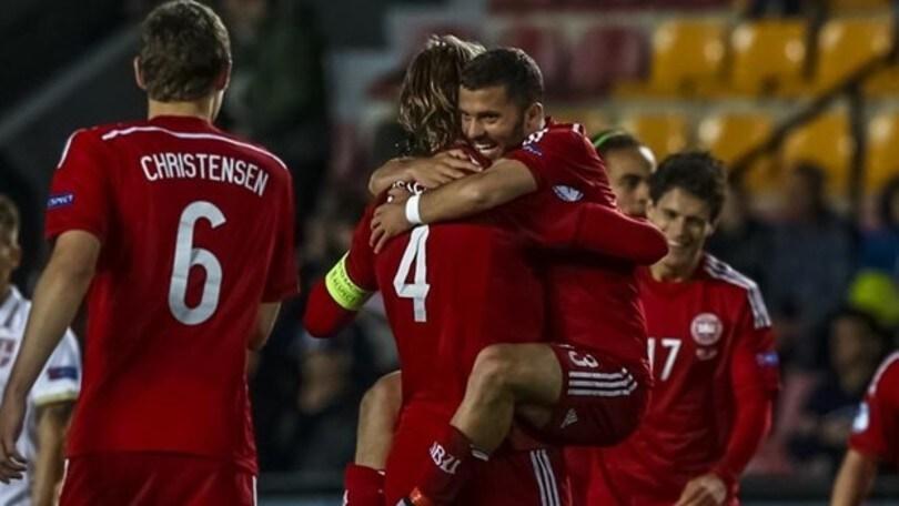 Europei U21, se l'Italia passa trova la Danimarca