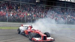 Ferrari show a Budapest con Vettel e la FXX K