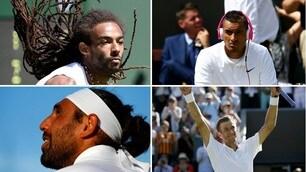 Wimbledon, tutte le acconciature più stravaganti del torneo