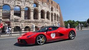 Roma, passione Ferrari con la &ldquo;Cavalcata&rdquo;<br />
