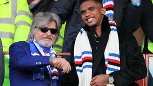 Eto'o saluta la Sampdoria: «Sempre nel mio cuore»