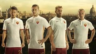 Roma, ecco la nuova seconda maglia