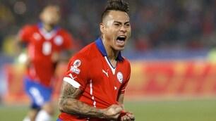 Coppa America, Edu Vargas regala la finale al Cile