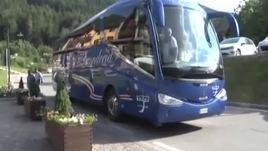 Sampdoria, l'arrivo a Ponte di Legno