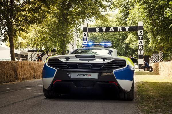 McLaren a Goodwood 2015, che show!