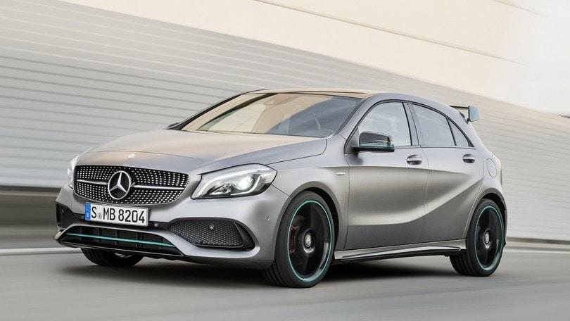 Mercedes Classe A, dal 3 luglio il restyling fino a 381 cv