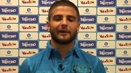Napoli, ecco Insigne: «Vi aspettiamo tutti a Dimaro»