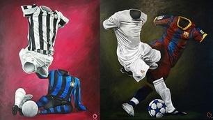 L'arte incontra il calcio: le opere di Betirri Bengston