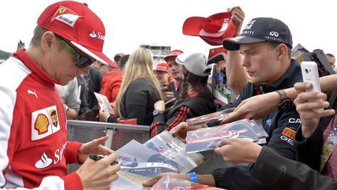 F1 Raikkonen: «E' la Ferrari che deve decidere»