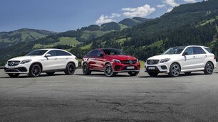 Mercedes AMG GLE, i SUV coi muscoli