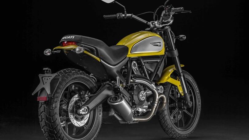 Ducati, mercato: che successo per la Scrambler!