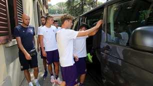 Fiorentina, prime visite mediche in vista del ritiro