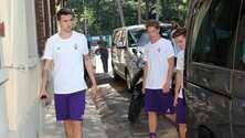 Fiorentina, prime visite. Vecino: «Voglio restare»