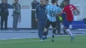Medel decide di fermare così Messi: che calcione!