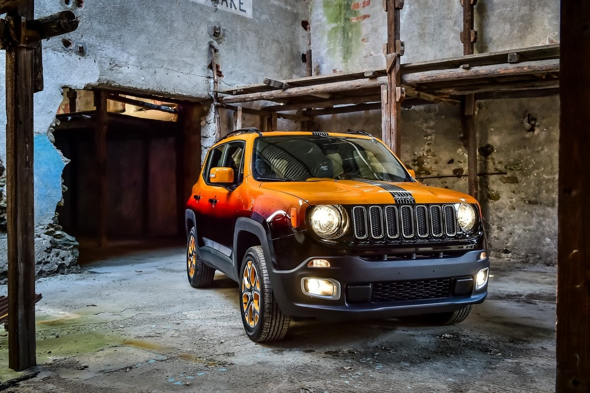 Jeep Renegade diventa rock con Garage Italia Custom