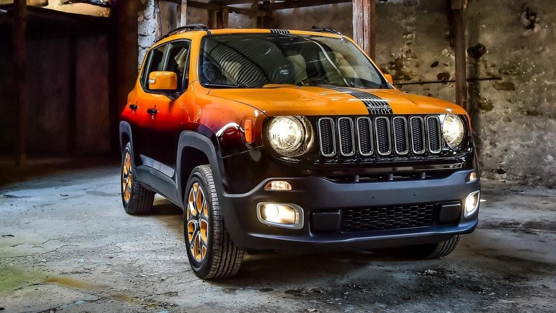 Jeep renegade diventa rock con garage italia custom for Prezzi del garage della carrozza