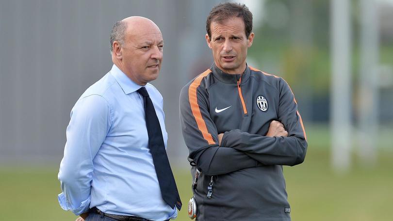Calciomercato Juventus, Marotta: «Allegri un problema che non esiste»