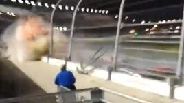 Daytona, tragedia sfiorata: il video fa paura