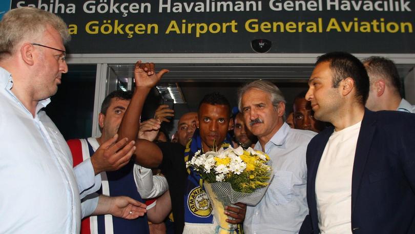 Nani al Fenerbahce, che accoglienza in Turchia
