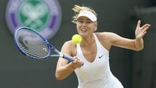 Wimbledon, Sharapova vola ai quarti di finale