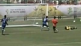 Incredibile Micronesia: 114 gol subiti in tre partite
