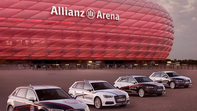 Audi porta Milan e Real nella tana del Bayern