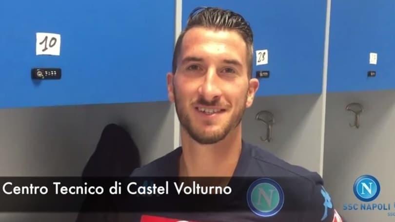 Valdifiori: «Emozione Napoli». Reina: «Sarà grande stagione»