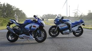 """Suzuki GSX-R, la """"Gixxer"""" compie 30 anni"""