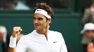 Wimbledon, Federer da favola: batte Murray e vola in finale!