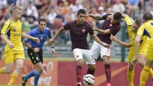 Roma, esordio con sconfitta contro gli ungheresi