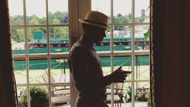 Hamilton vestito male: niente finale di Wimbledon