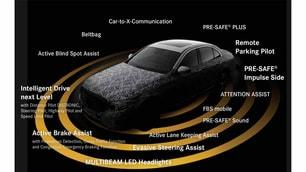 Mercedes-Benz Classe E: guida autonoma e sicurezza