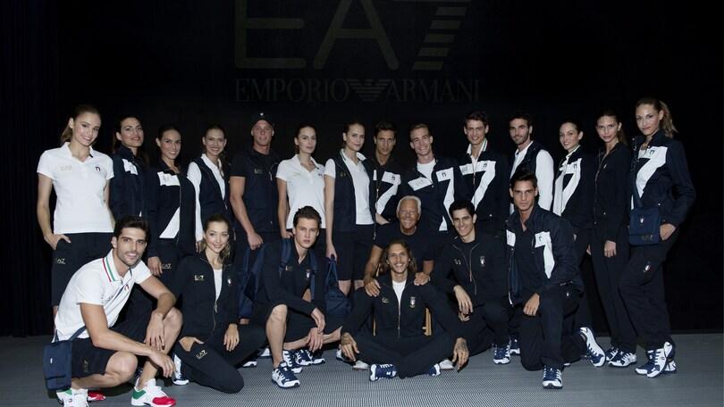 Giorgio Armani official outfitter dei Giochi Olimpici e Paralimpici di Rio 2016