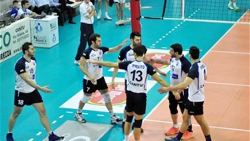 Volley: A2 Maschile, Riva ritorna a giocare a Cantù