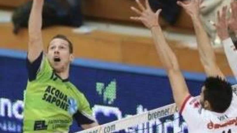 Volley: Superlega, Trento fa il colpo Urnaut