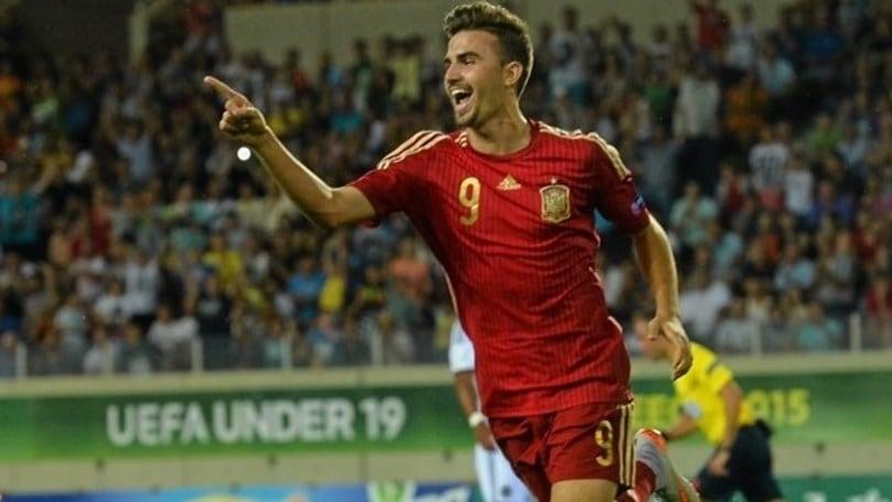 Borja Mayoral, che trionfo con la Spagna Under 19