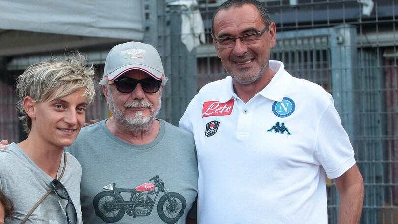 Napoli, Sarri: «Insigne trequartista ha fatto bene»