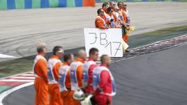 Ciao Jules, al GP d'Ungheria il saluto a Bianchi