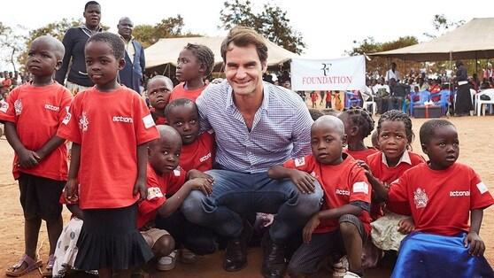 Federer, 12 milioni per 81 scuole materne in Malawi