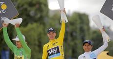 Tour de France: Froome, in quota è già tripletta