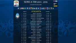 Serie A, il calendario squadra per squadra